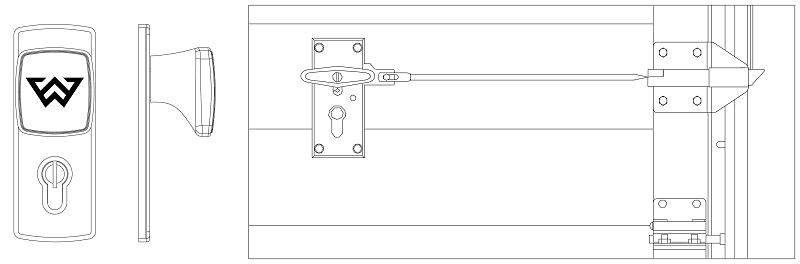 SNP 40mm - N-panel Garageport 4