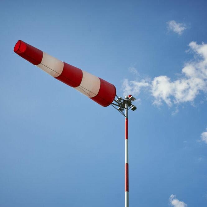 Vindflagga-himmel